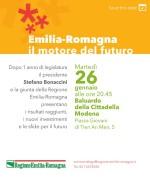 """""""Emilia-Romagna il motore del futuro"""""""
