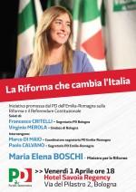 """""""La riforma che cambia l'Italia"""", con MARIA ELENA BOSCHI"""
