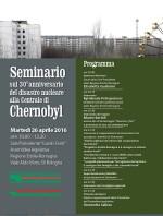 Seminario sul 30° anniversario del disastro nucleare alla centrale di Chernobyl