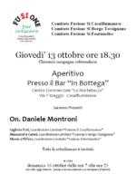 Chiusura campagna referendaria con l'On. Daniele Montroni