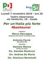 Per un'Italia più forte #bastaunsì