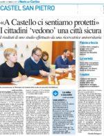 «A Castello ci sentiamo protetti» I cittadini 'vedono' una città sicura