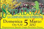"""8a StraDozza """"La camminata delle Superdonne"""" domenica 5 marzo 2017"""
