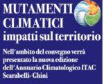 """Incontro """"MUTAMENTI CLIMATICI IMPATTI SUL TERRITORIO"""""""