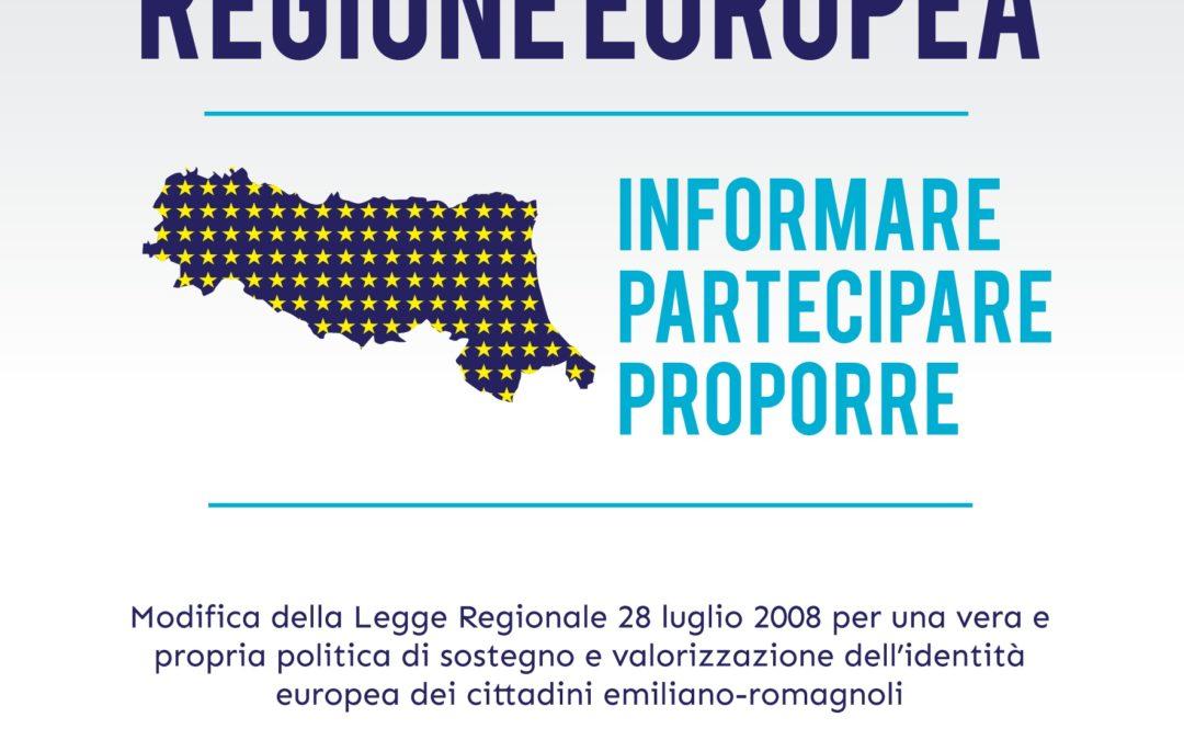 Europa. Via libera da viale Aldo Moro alla riforma della legge regionale sull'attività comunitaria