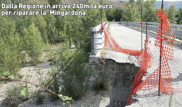"""Marchetti: """"Finanziati i lavori al ponte Mingardona tra Castel San Pietro Terme e Monterenzio"""""""