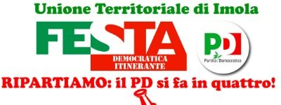 Festa Democratica Itinerante del PD Unione Territoriale di Imola