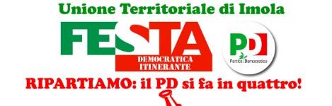 Festa Democratica Itinerante: dal 13 al 15 ottobre C.S ZOLINO – Imola
