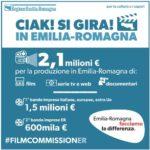 La Regione lancia due nuovi bandi per la produzione di opere cinematografiche e audiovisive di imprese nazionali, internazionali e regionali: 2,1 milioni a disposizione