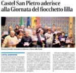 Castel San Pietro aderisce alla giornata del fiocchetto lilla