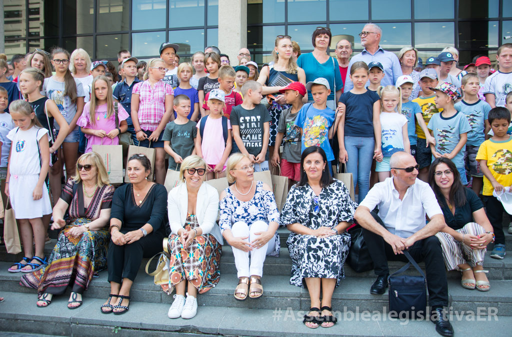 """I bambini bielorussi in Assemblea per il """"Chernobyl day"""""""