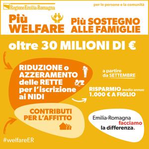 30 milioni per le politiche di welfare e sociali, Francesca Marchetti commenta le scelte della Regione Emilia-Romagna
