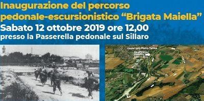Inaugurazione del percorso pedonale – escursionistico Brigata Maiella