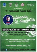 4 ° Memorial Renzo Cerè – Calciando la Disabilità