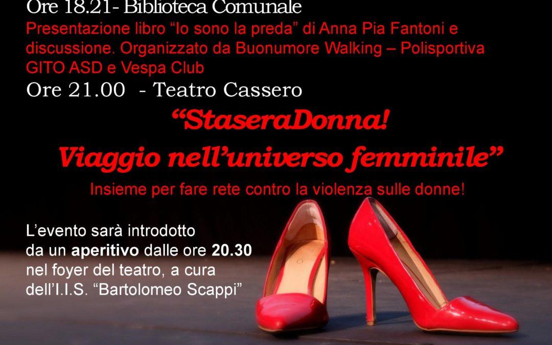 """25 novembre """"Giornata internazionale per l'eliminazione della violenza contro le donne"""""""