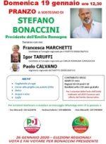 Pranzo a sostegno di Stefano Bonaccini