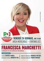 Chiusura della campagna elettorale con Francesca Marchetti