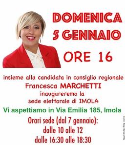 Regionali, la Marchetti (Pd) inaugura la sede elettorale