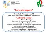 """""""La buona scuola"""" con Francesca Marchetti"""