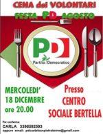 Cena dei Volontari Centro sociale Bertella