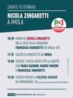Nicola Zingaretti a Imola