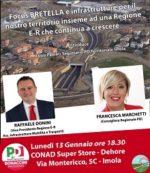 Bretella e infrastrutture per il nostro territorio insieme alla Regione Emilia-Romagna che continua a crescere