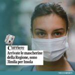 Ai 10 comuni del circondario imolese complessivamente sono state destinate oltre 59.750 mascherine
