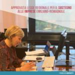 Approvata legge regionale a sostegno delle imprese emiliano-romagnole