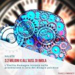 Salute mentale, la Regione investe nella prevenzione e cura del disagio psichico: 3,2 MILIONI DI EURO ALL'AUSL DI IMOLA