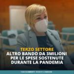 Dalla Regione nuovi aiuti al Terzo settore: al via il secondo bando da oltre 3 milioni di euro per sostenere volontariato e associazioni di promozione sociale, messe a dura prova dall'emergenza sanitaria.