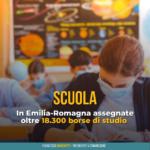 Scuola, superiori e istruzione professionale: in Emilia-Romagna assegnate oltre 18.300 borse di studio (+16%)