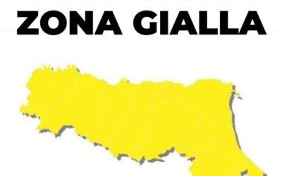 Emilia Romagna in zona gialla: Lunedì si riparte. Ecco cosa cambia dal 26 aprile