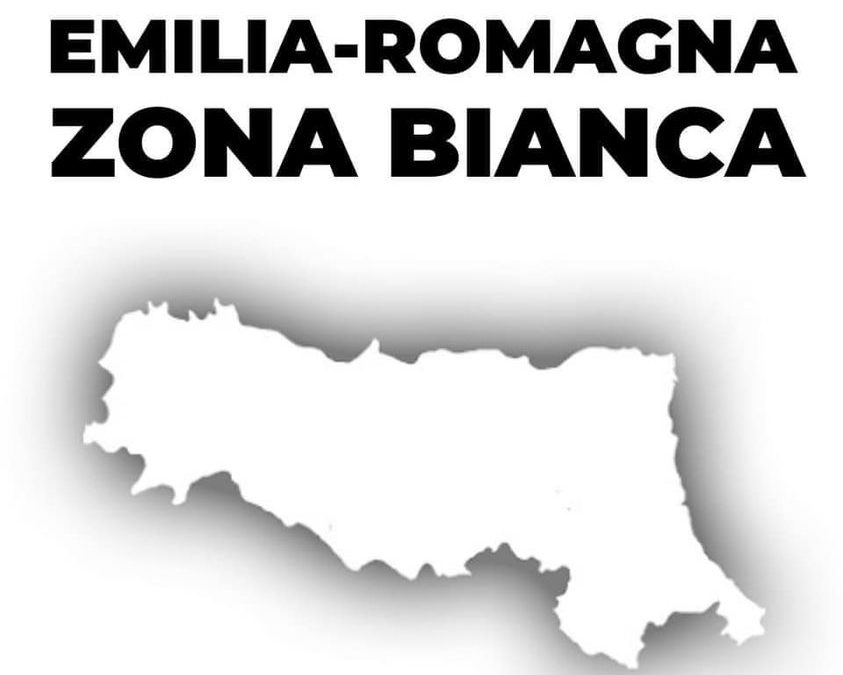 EMILIA-ROMAGNA IN ZONA BIANCA