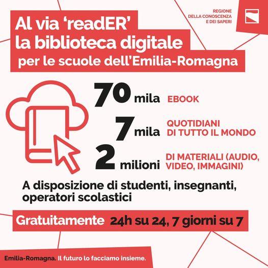 Scuola, in Emilia-Romagna biblioteca digitale gratuita per studenti e insegnanti: libri e quotidiani sempre disponibili